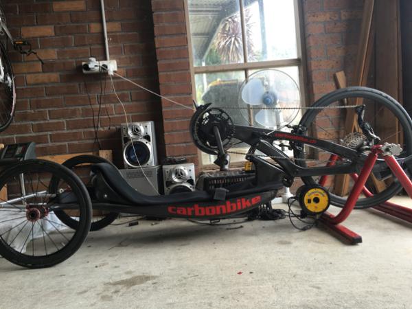 handcycle setup