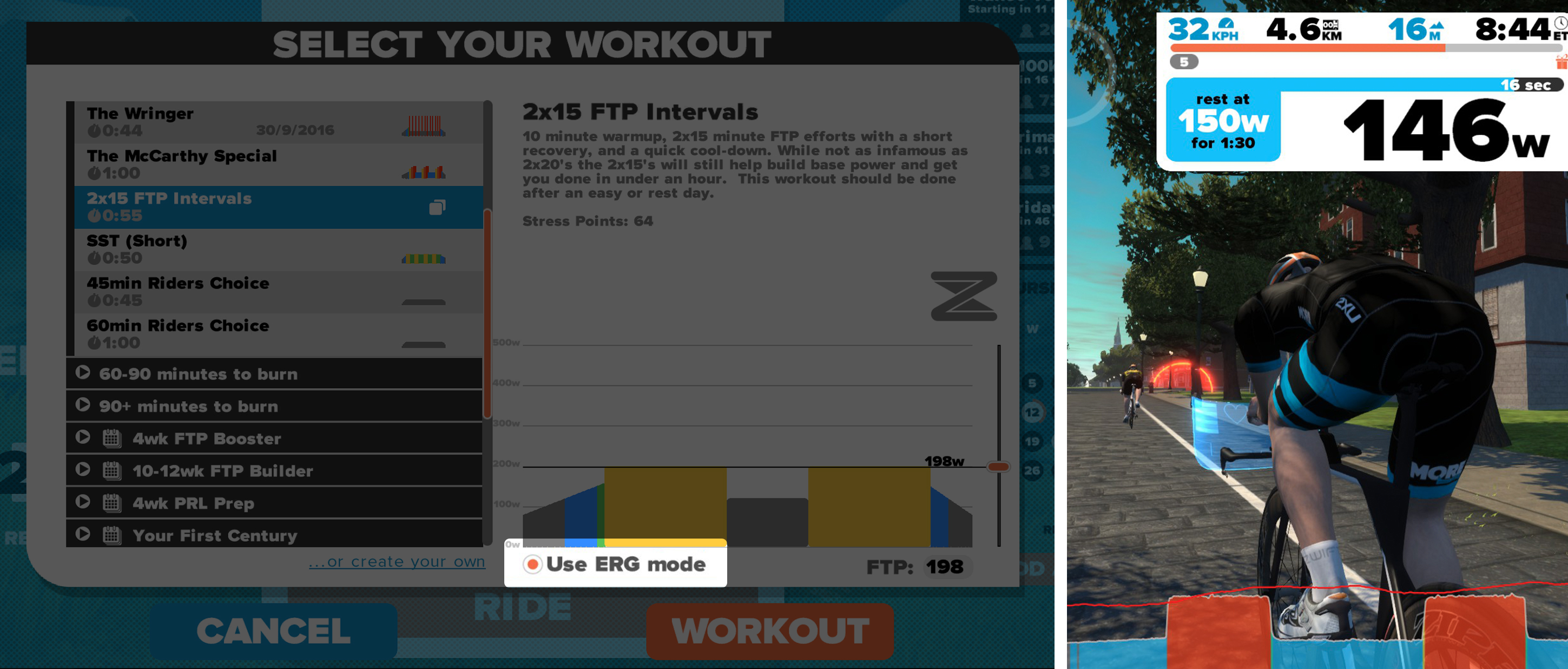 The What and Why of ERG Mode   Zwift