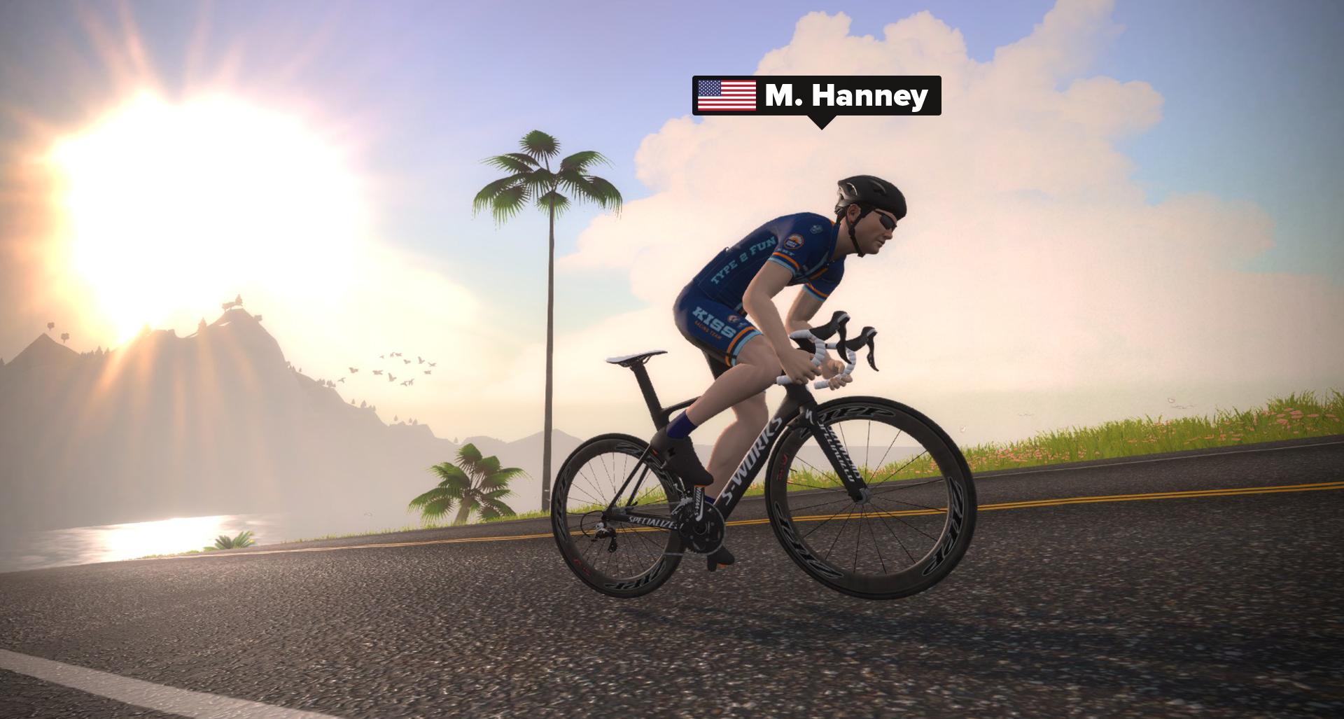 m. Hanney