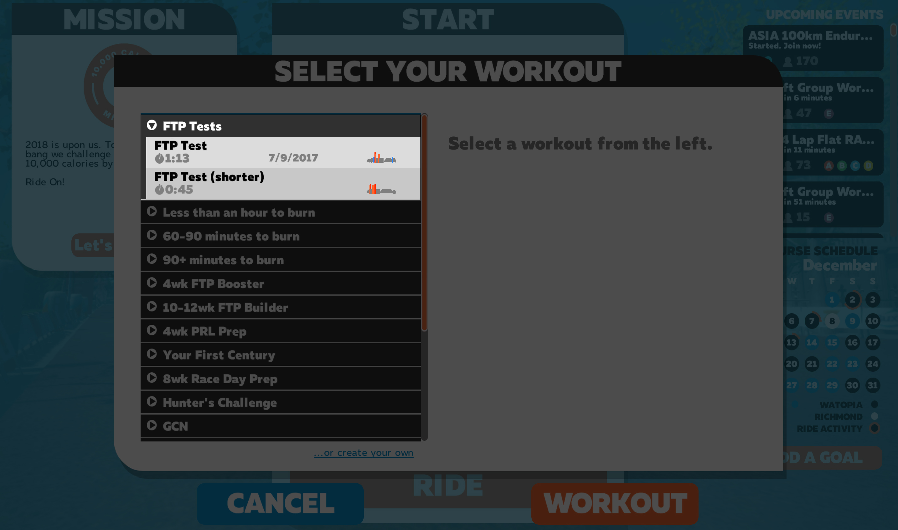 Zwift How-To: Taking a FTP Test | Zwift