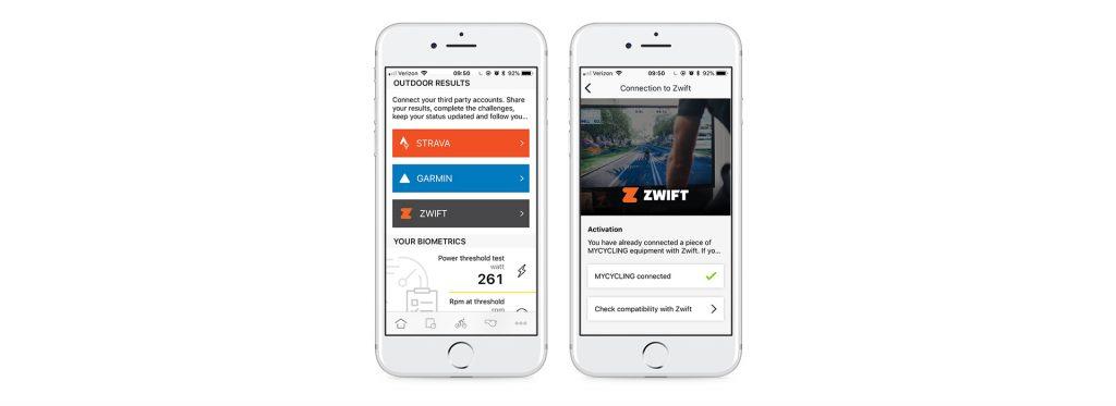 Technogym MyCycling Smart Trainer Works with Zwift | Zwift