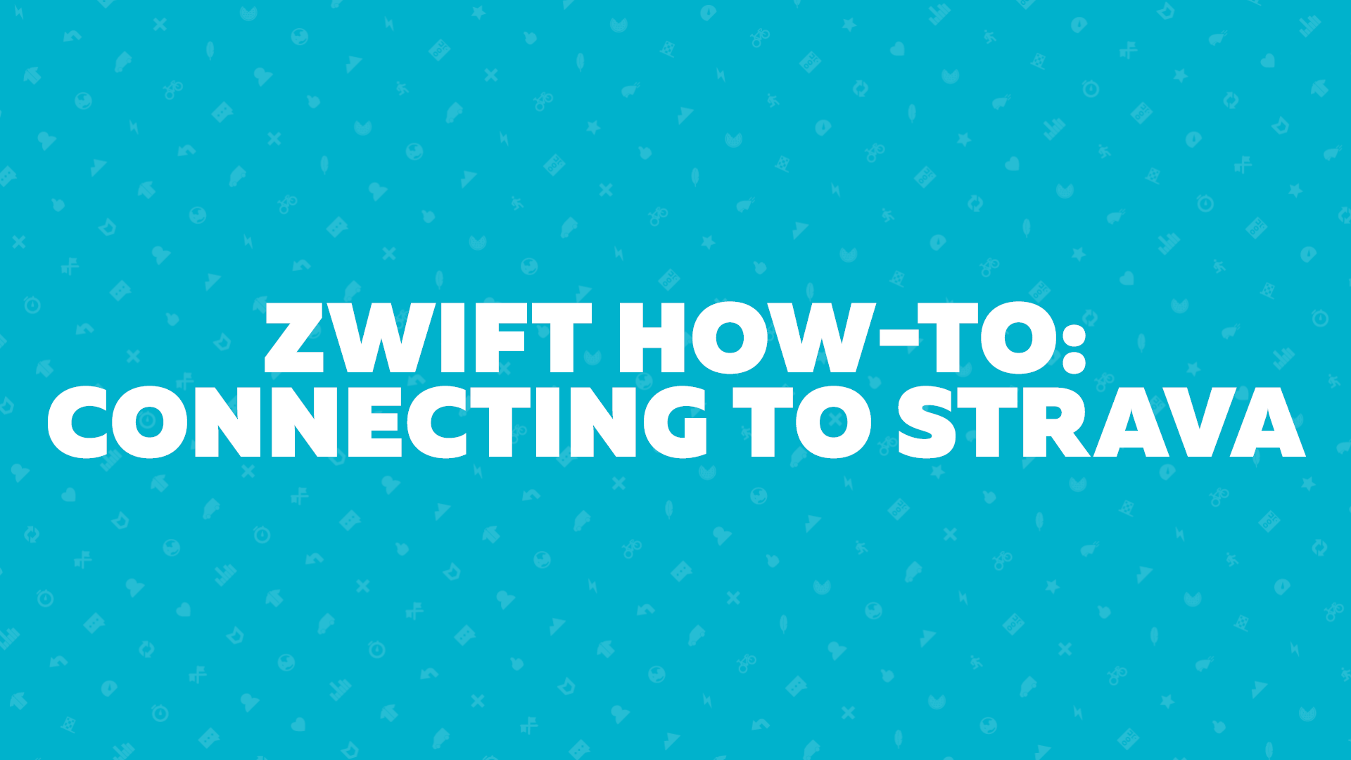 Zwift How-To: Connecting to Strava | Zwift