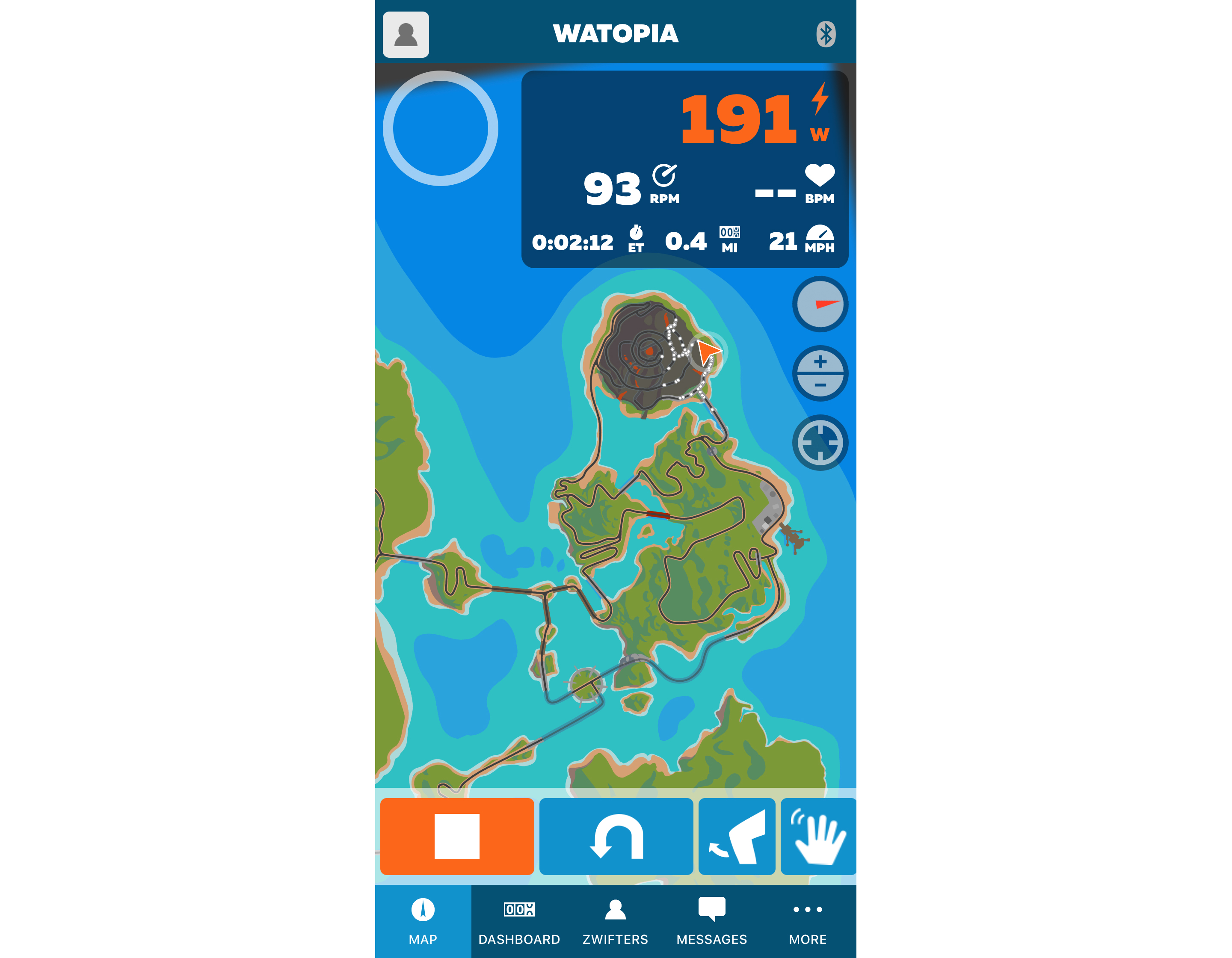 Zwift Companion App