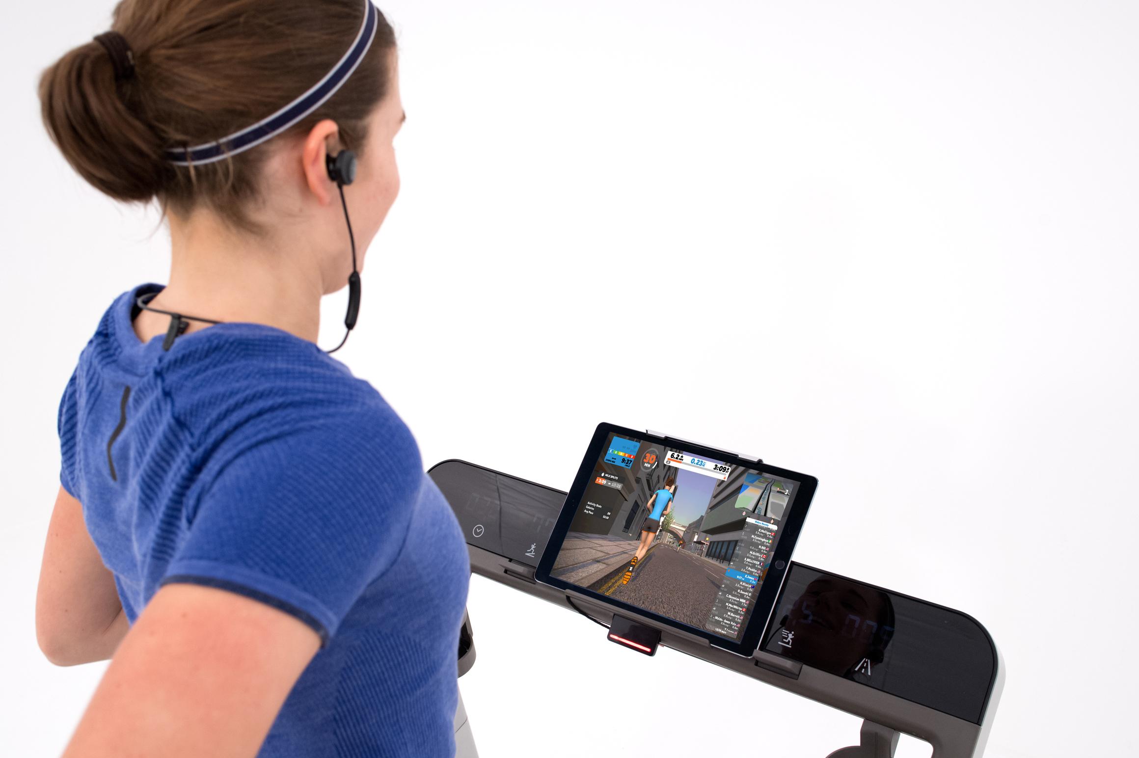 Running with iPad