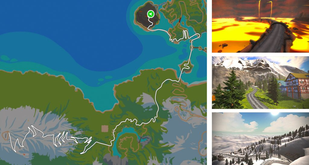 Zwift news tour of fire and ice tour of watopia gumiabroncs Image collections