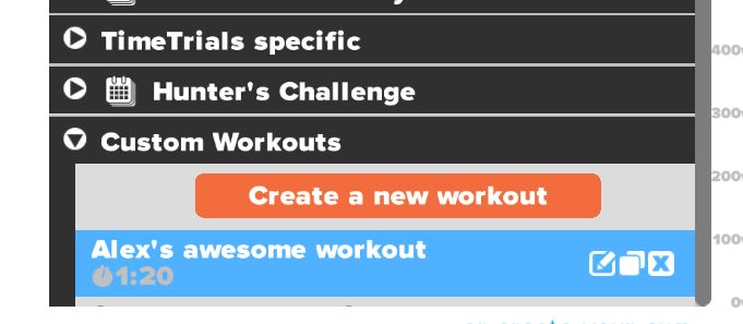Creating Custom Cycling Workouts