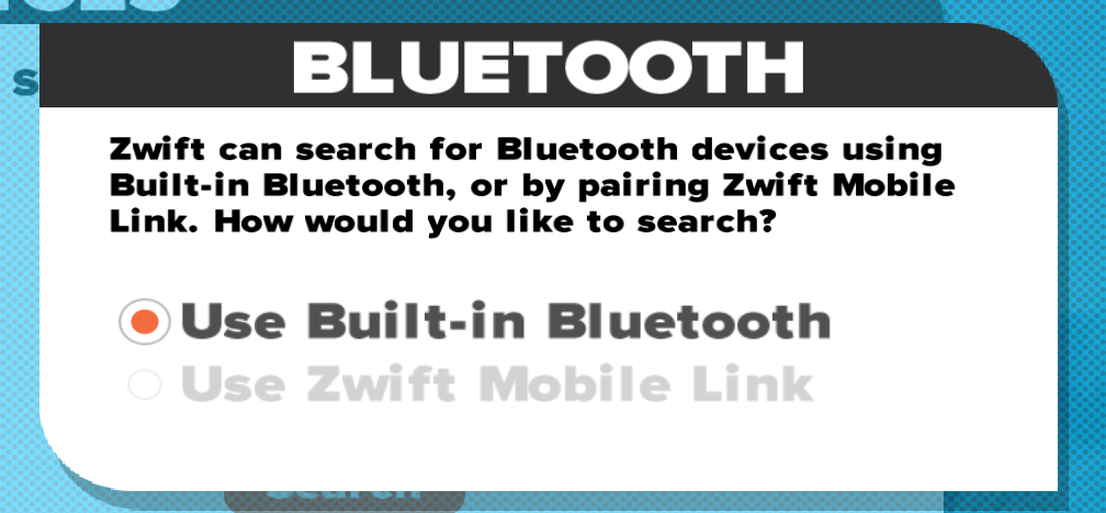 Pairing to Zwift with Bluetooth LE (BLE) Before a Run