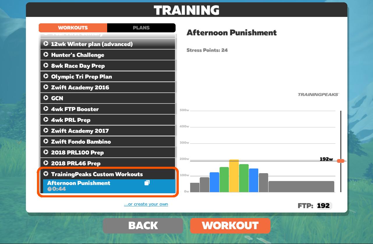 Zwift Workouts — ZwiftItaly