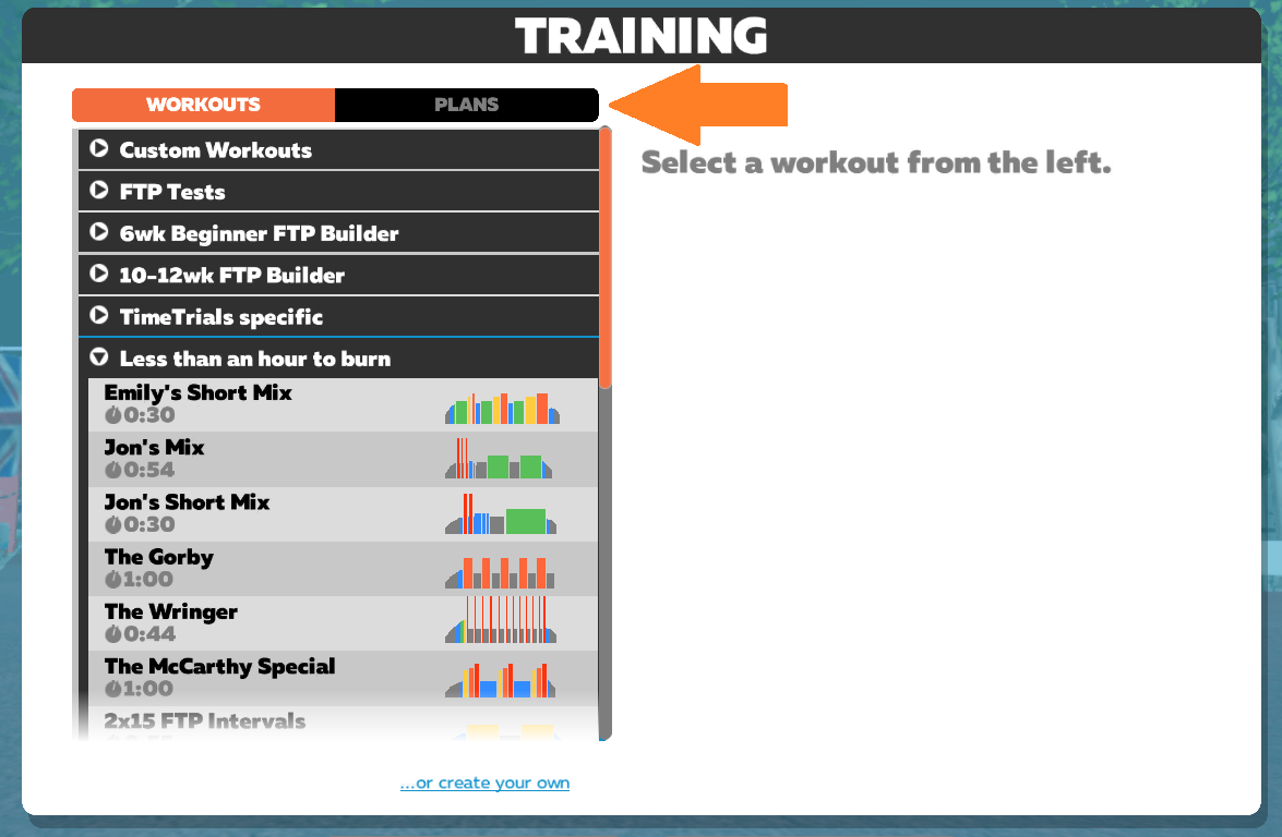 Using Workout Mode