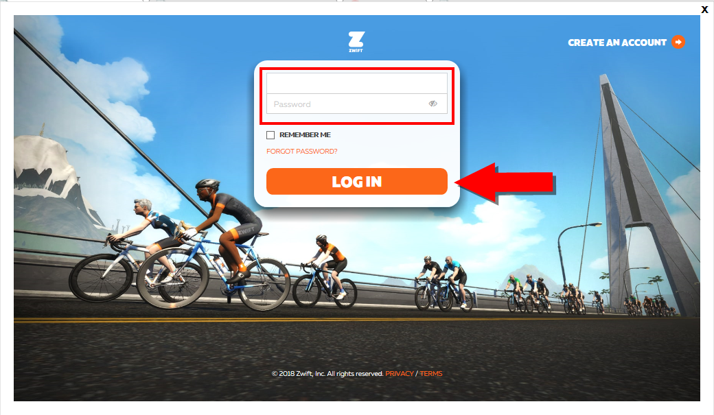 Starting Your First Run in Zwift