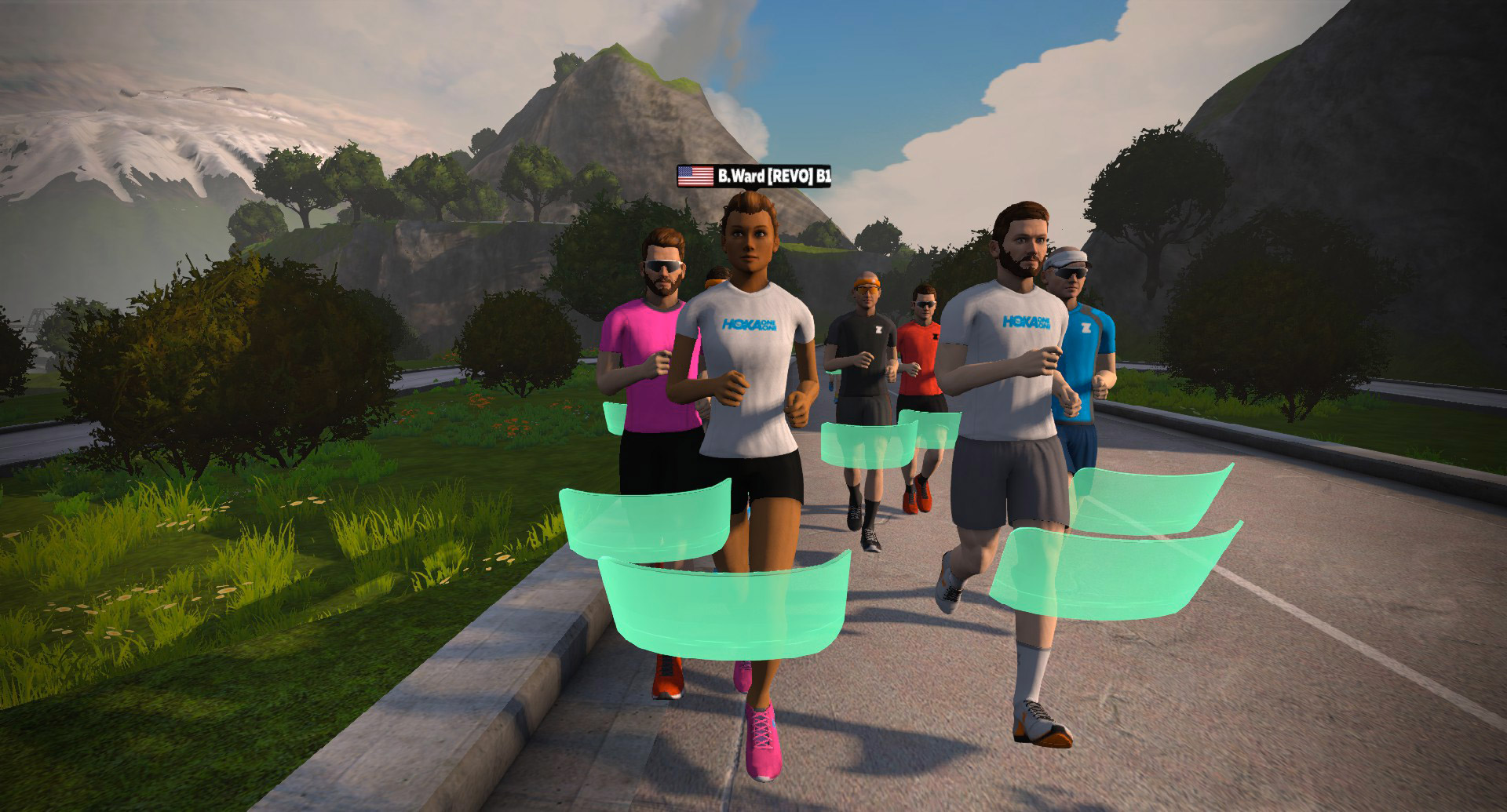 Zwift How-to: What Does the Colored Screen in Front of a