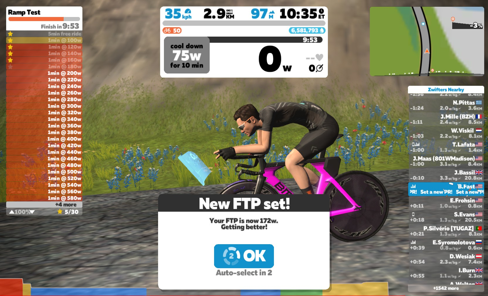 Zwift How-To: Using a Ramp Test to Find Your FTP | Zwift