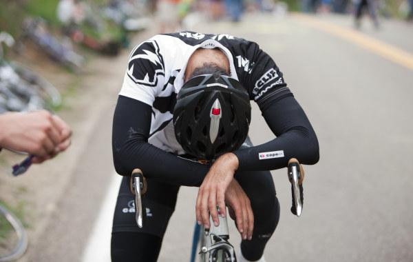 Fatigued-Cyclist